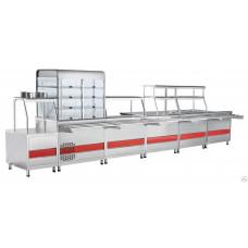 Прилавок холодильный Abat ПВВ(Н)-70КМ-03-НШ кашир.